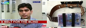 viSparsh: A haptic belt for visually impaired